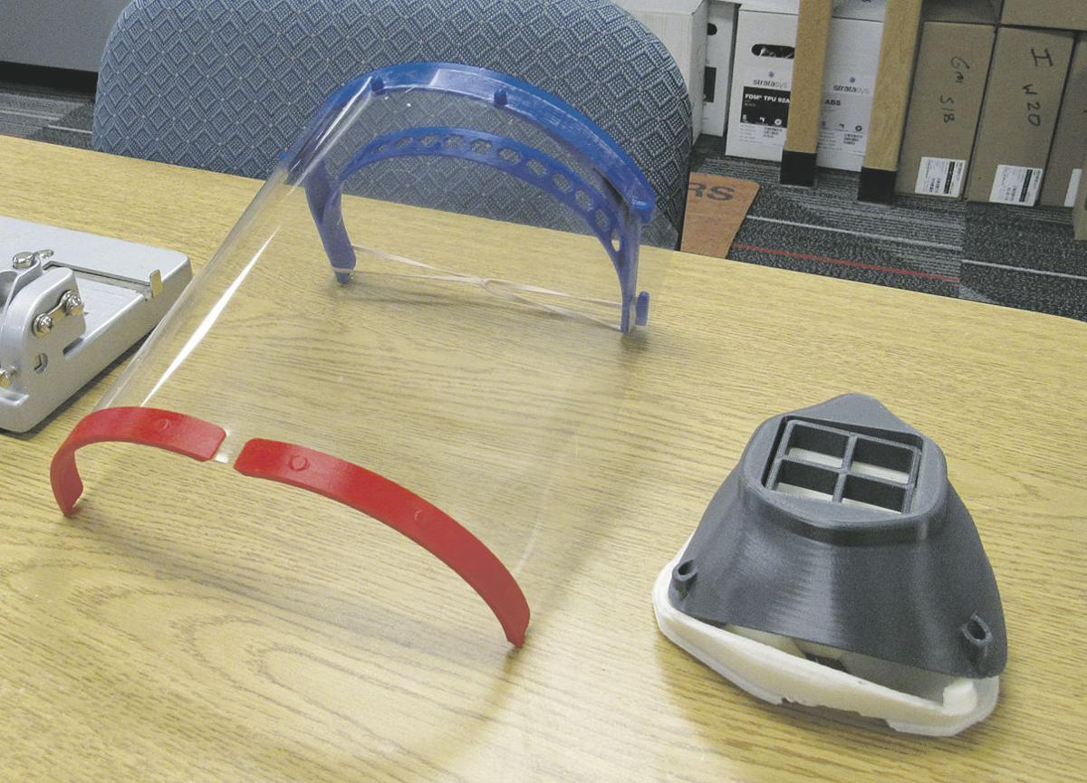 3D printers put to use to create PPE