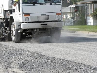 River Street project's dust draws residents' ire