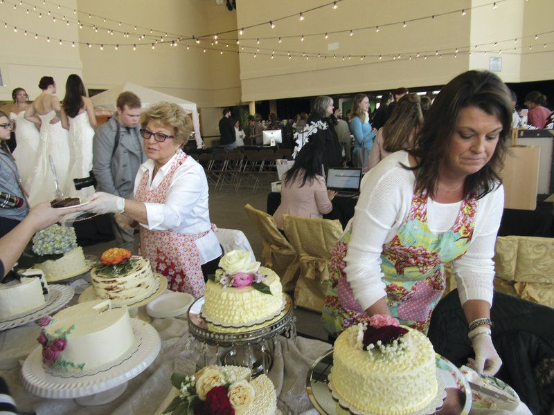 wedding cakes oneonta ny brides to be sample wedding wares in oneonta local news 25178