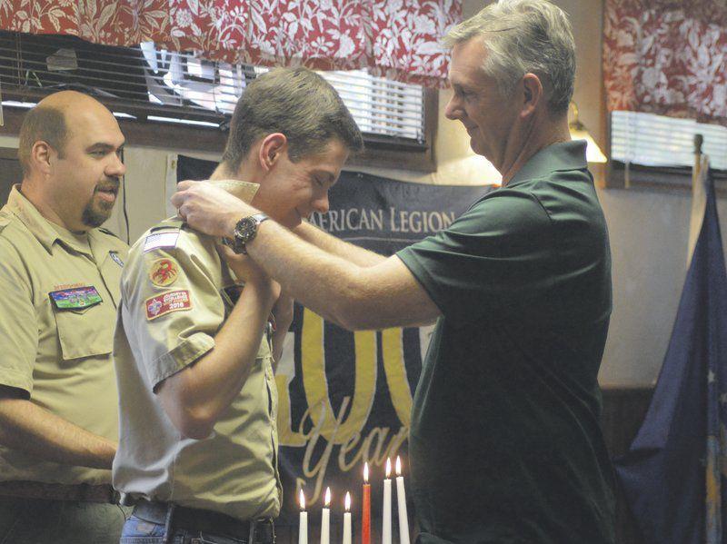 Local boy reaches Eagle Scout rank