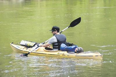 Kayaker to trek 444 miles to raise funds vs. veteran suicide