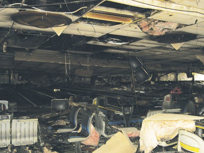 Early morning fire destroys Oneonta bowling alley