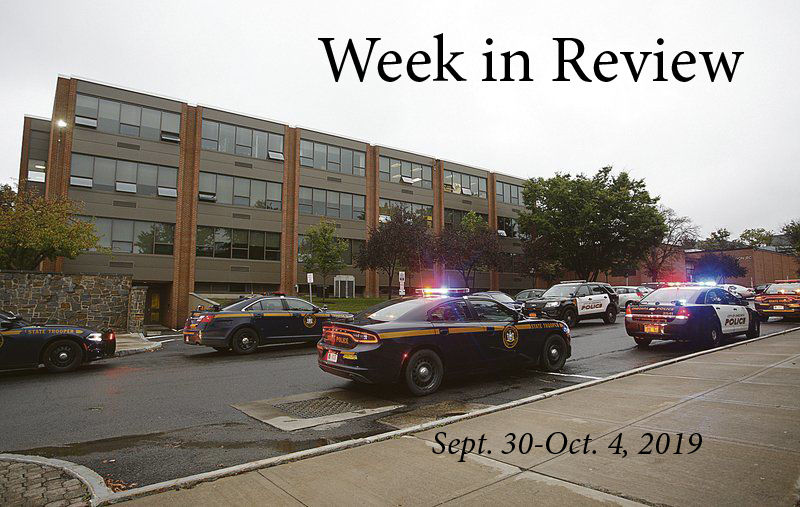 Week in Review: Sept. 30 - Oct. 4, 2019
