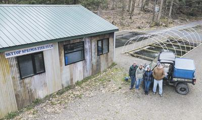 Sidney Center fish farm offers fresh, sustainable trout