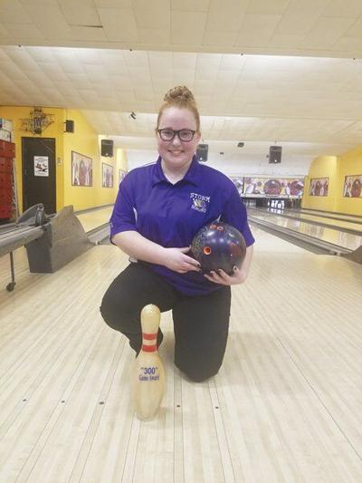 Unadilla Valley's Gracie Oglesby bowls program's first perfect game