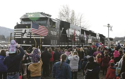 Toys for Tots to arrive by truck, not train