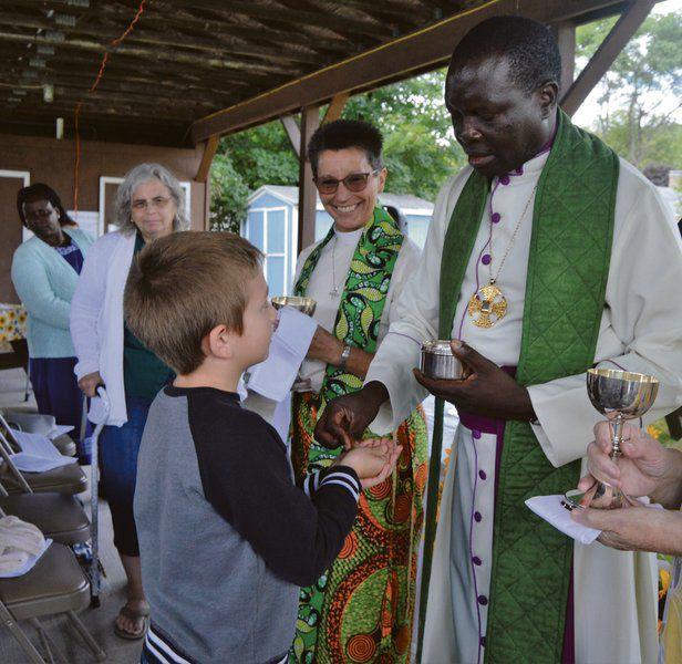 Sudanese bishop visits Gilbertsville