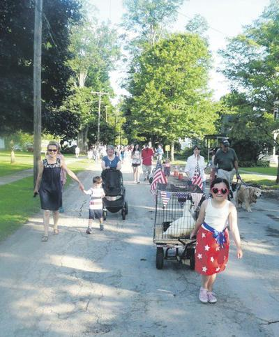 Gilbertsville shows offpets in annual parade