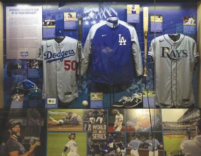 Hall of Fame honors World Series Champion Dodgers with exhibit