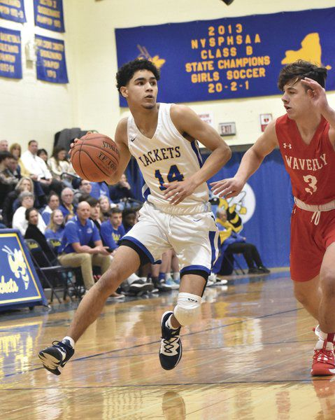 'Jackets reach section semis