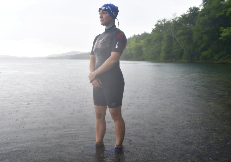 Cherry Valley swimmer seeks sponsors to help local charity