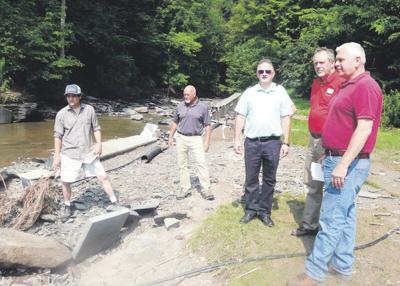 Officials assess damage from recent floods
