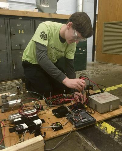 On the Bright Side: Robotics team gears up for contest