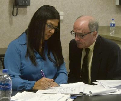 Suspended Delaware official begins hearing