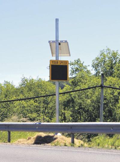 New solar signs to improveSidney Center traffic safety