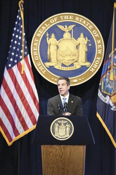 Cuomo budget plan includeslegalpot, fiscal belt-tightening