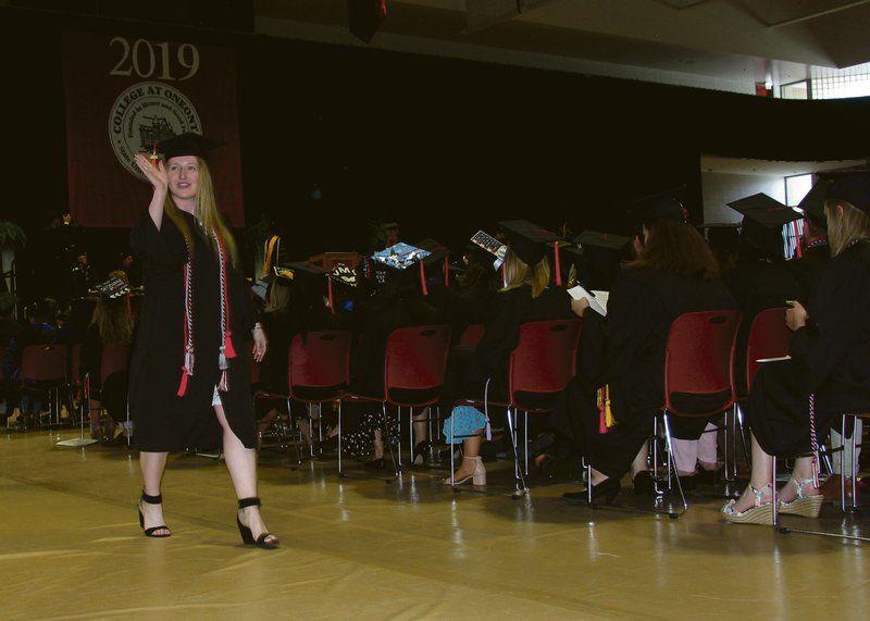 Oneonta Graduation 2020.Suny Oneonta Graduates 1 200 Plus Students Local News