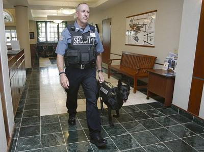 BassettMedical Center adds security dog