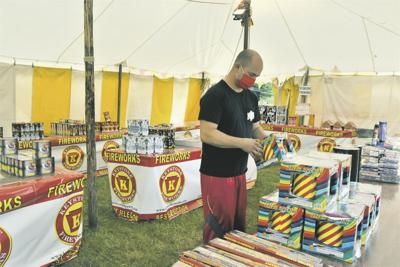 With shows canceled, fireworkssee sales boom