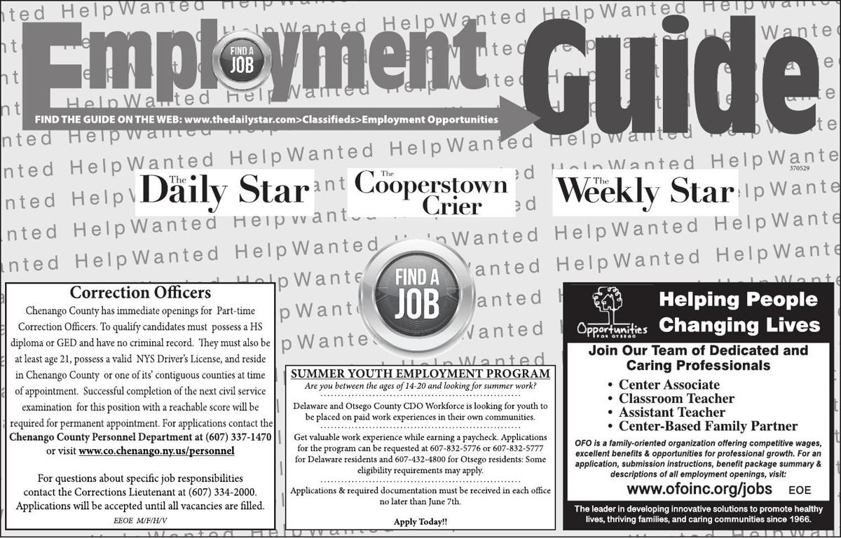 Employment Opportunities 5/25 page 2