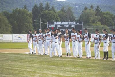 Outlaws win home opener in extra innings