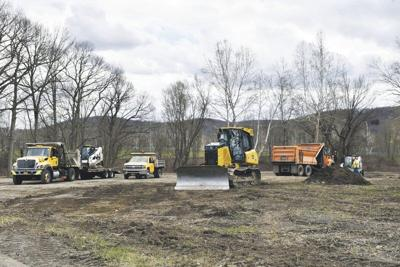 Construction begins on Neahwa dog park