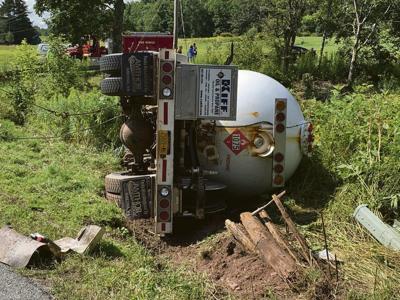 Propane tanker crash in Hobart kills driver