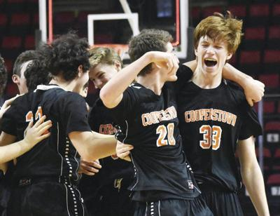 Coop boys set for daunting final four