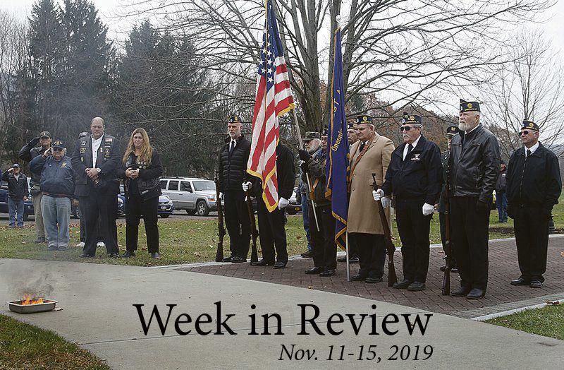 Week in Review: Nov. 11-15, 2019