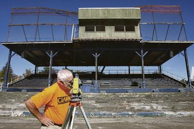 Overhaul of Damaschke Field begins