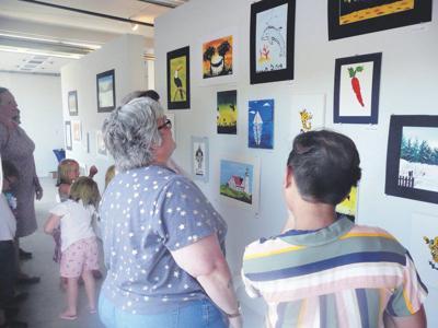 Gilbertsville summer arts program ends with gallery show