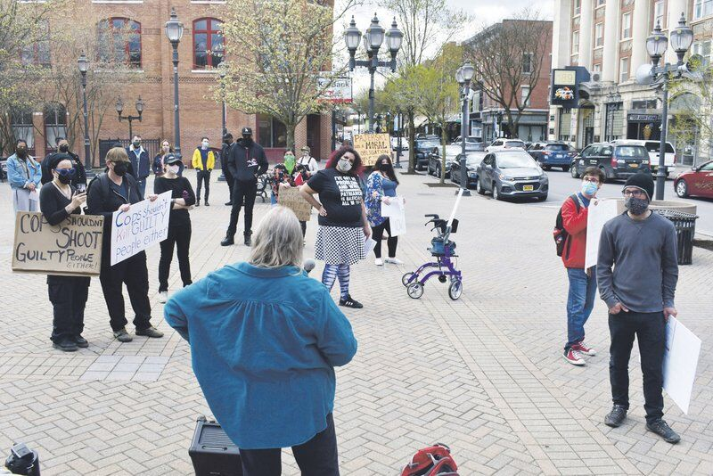 Protests over officer involved shooting continue