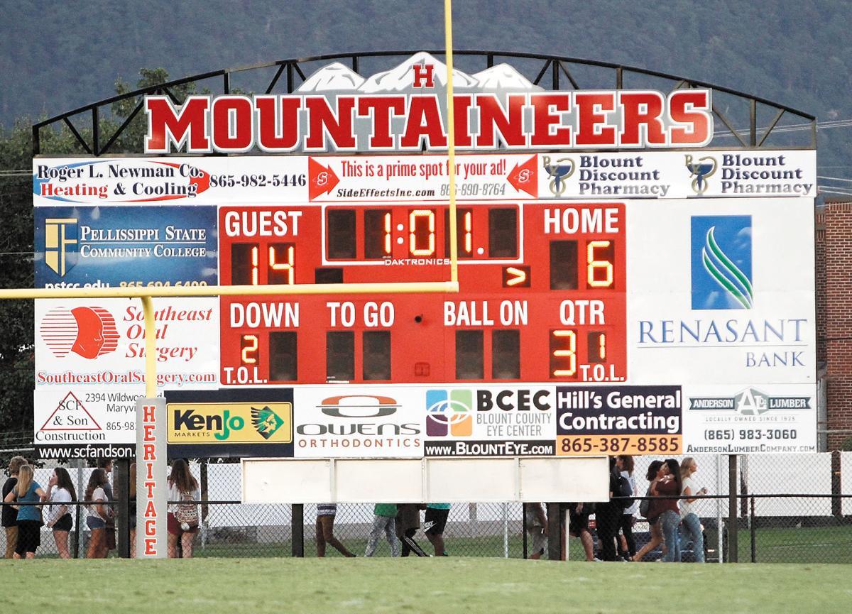 Heritage Adds New Football Scoreboard
