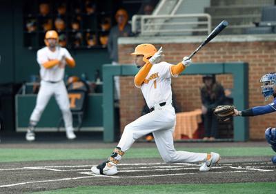 Baseball: UT's Alerick Soularie vs UNC-Asheville
