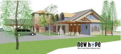 New Hope Children's Advocacy Center artist rendering