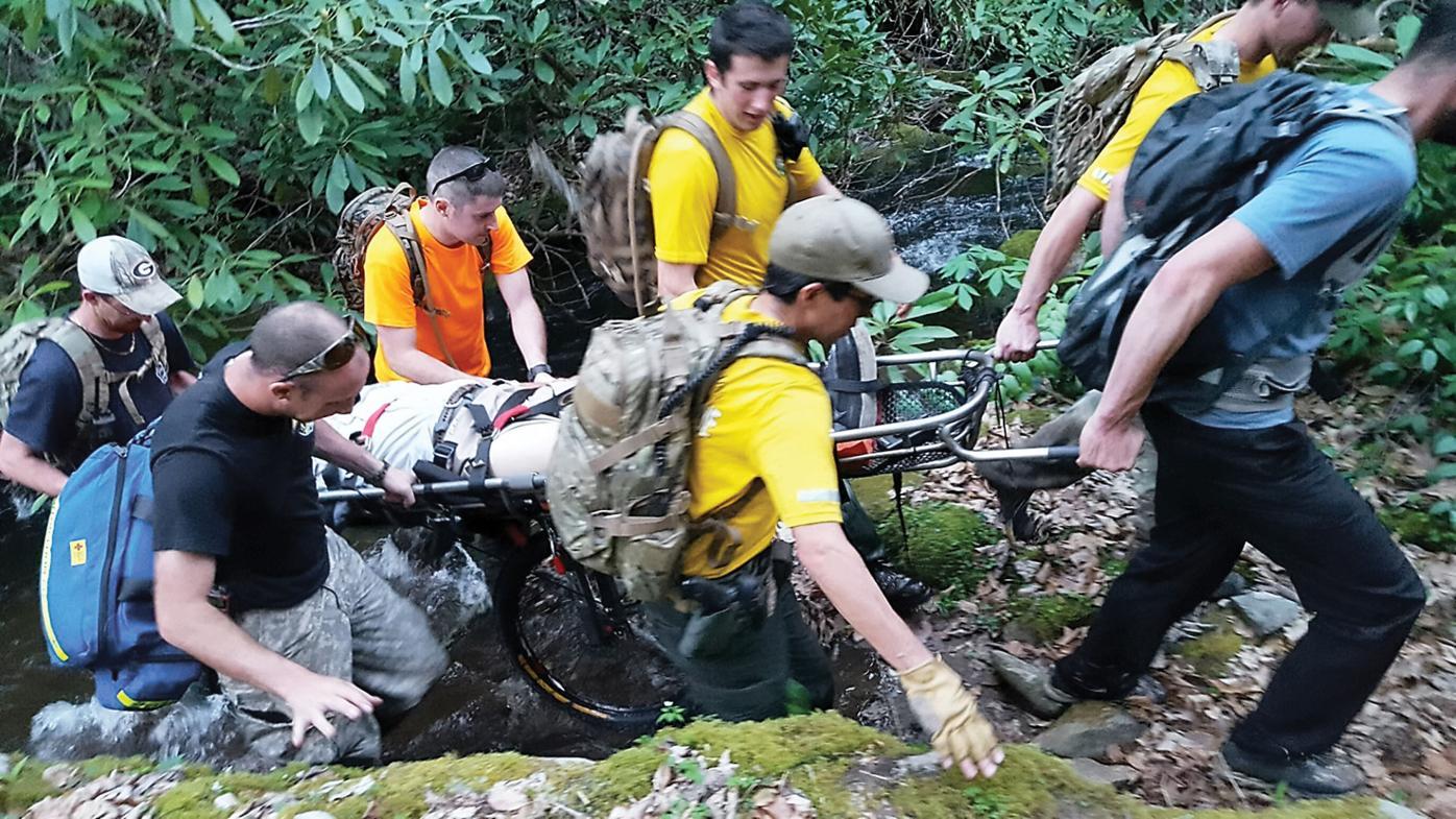 Ranger rescues 2