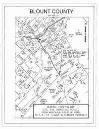 General location map: S R  336 (Montvale Road) | News