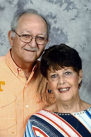 Clyde and Peggy Dockery anniversary