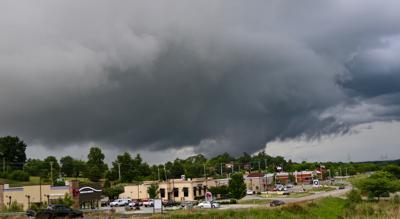 Storm clouds over Maryville