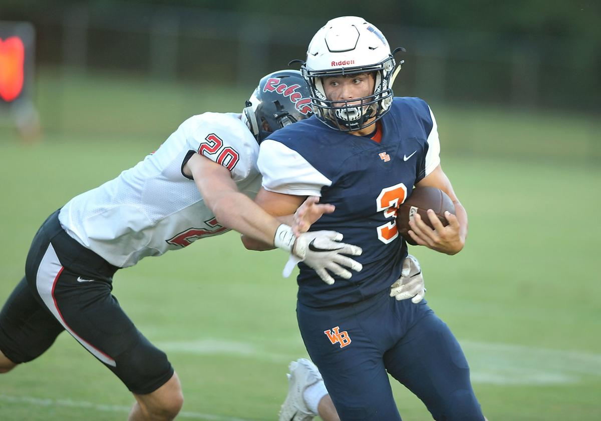 FOOTBALL: William Blount's Micah Franklin vs Maryville
