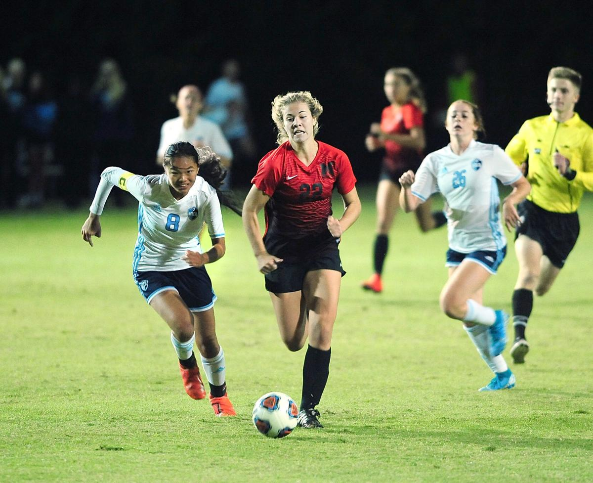 SOCCER: Maryville's Reyna Coston vs Hardin Valley