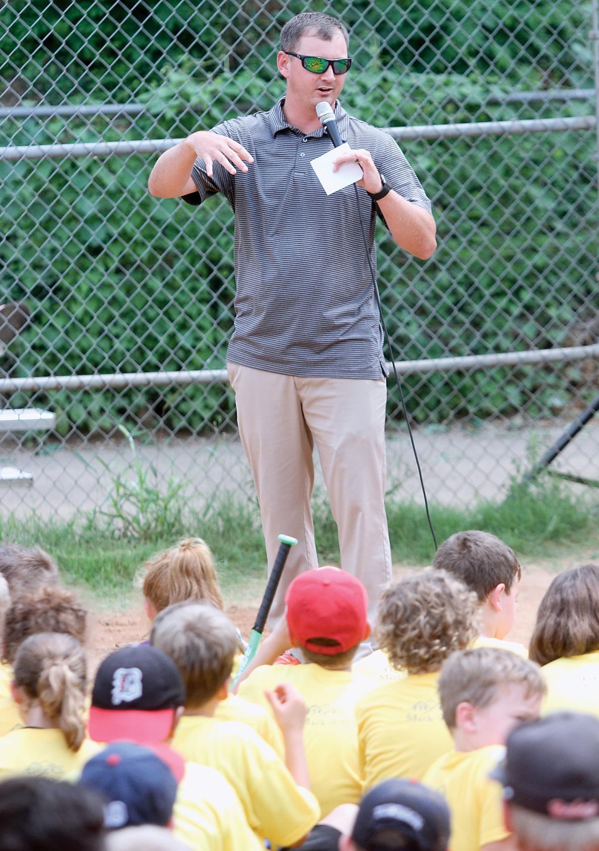 Maryville College baseball coach Cody Church