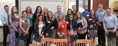 Maryville City Schools teachers receive tenure