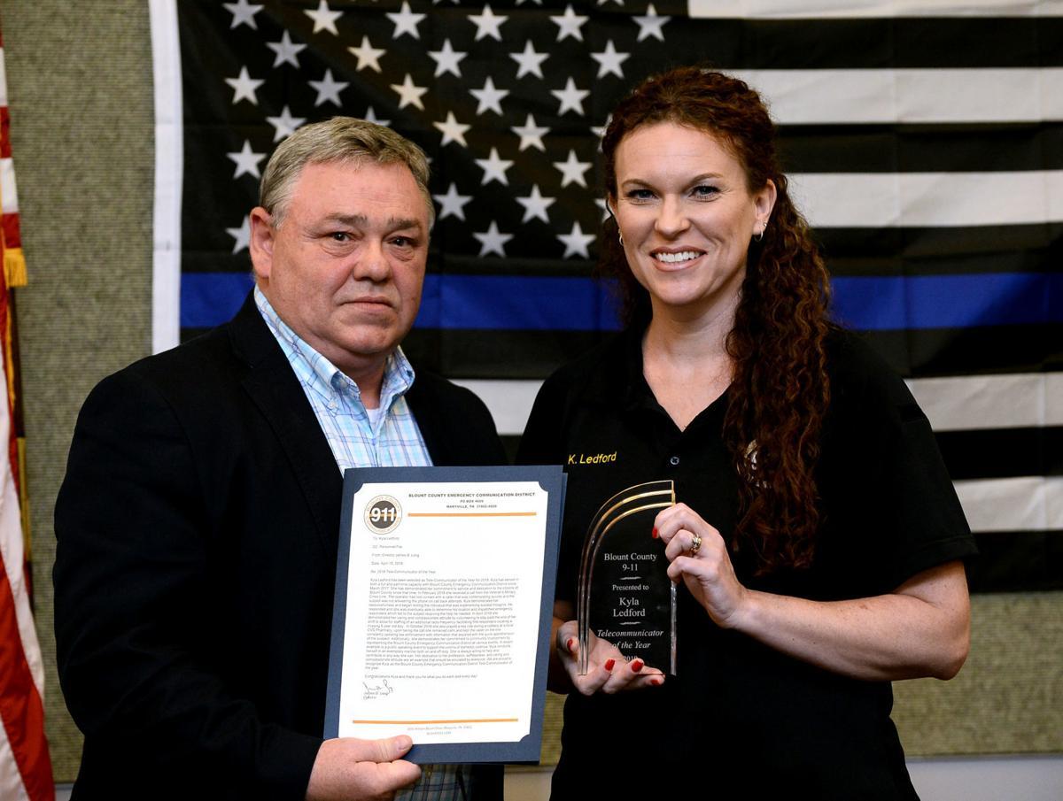 Blount County 911 awards