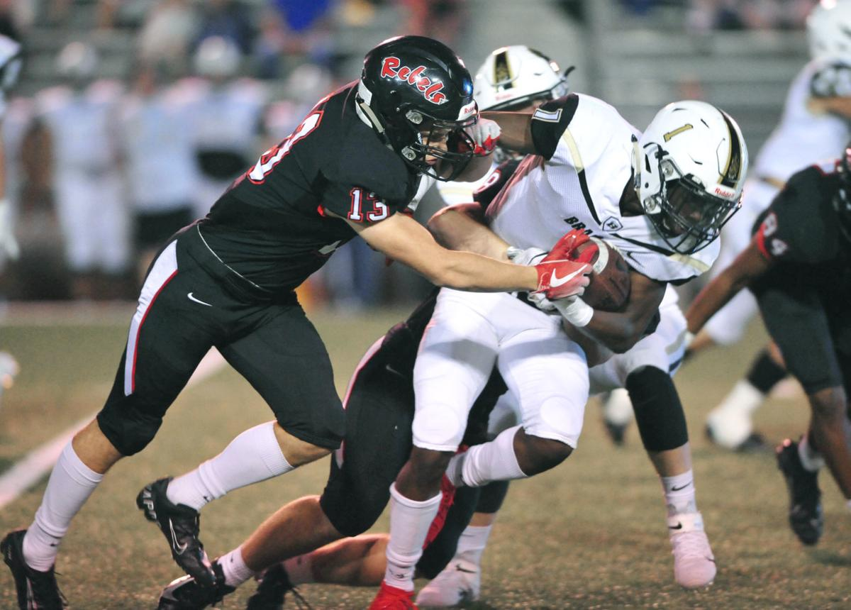 FOOTBALL: Maryville's Garrett Russell and Jackson Jett vs Bradley Central
