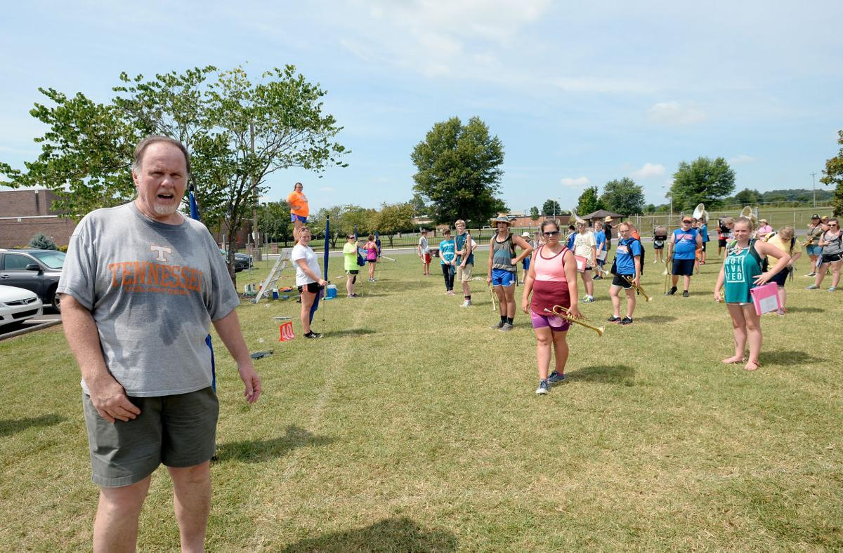 Rogers directs WBHS band camp