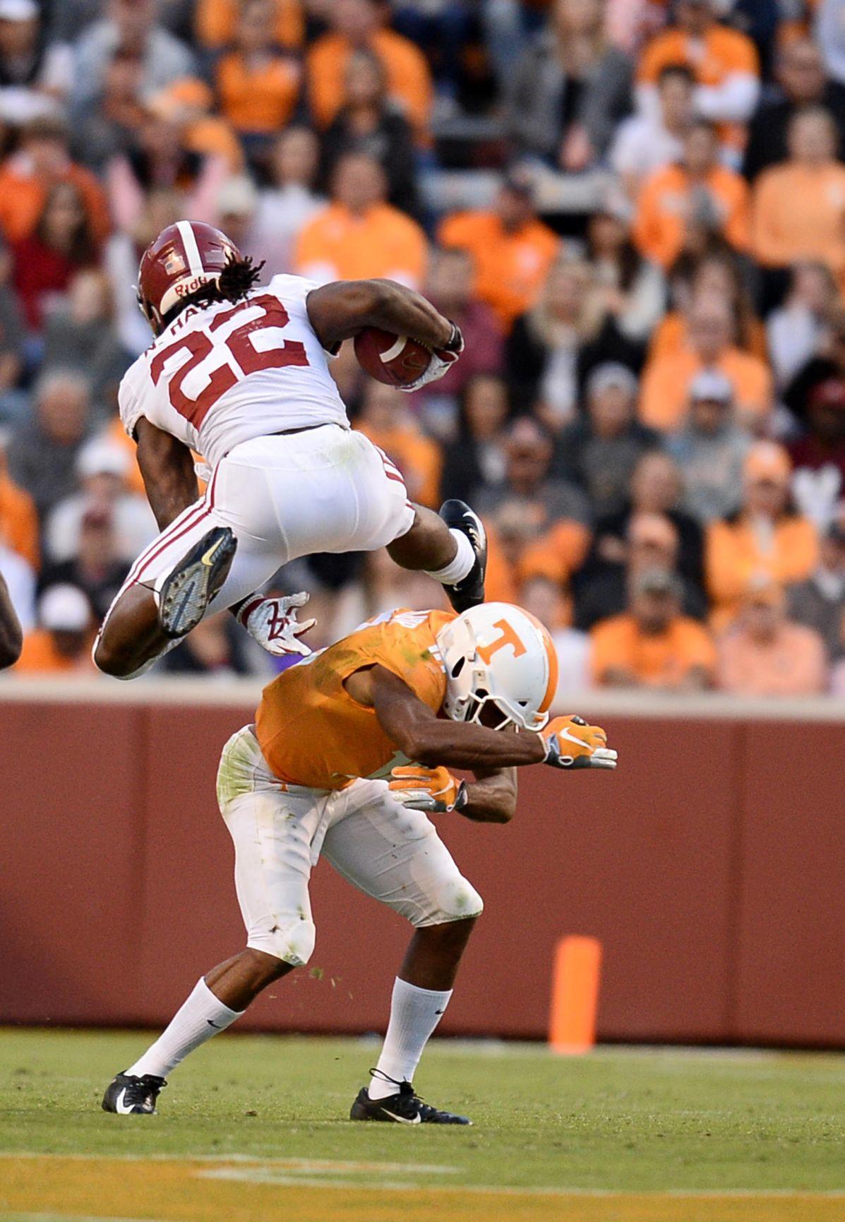 Tennessee vs Alabama