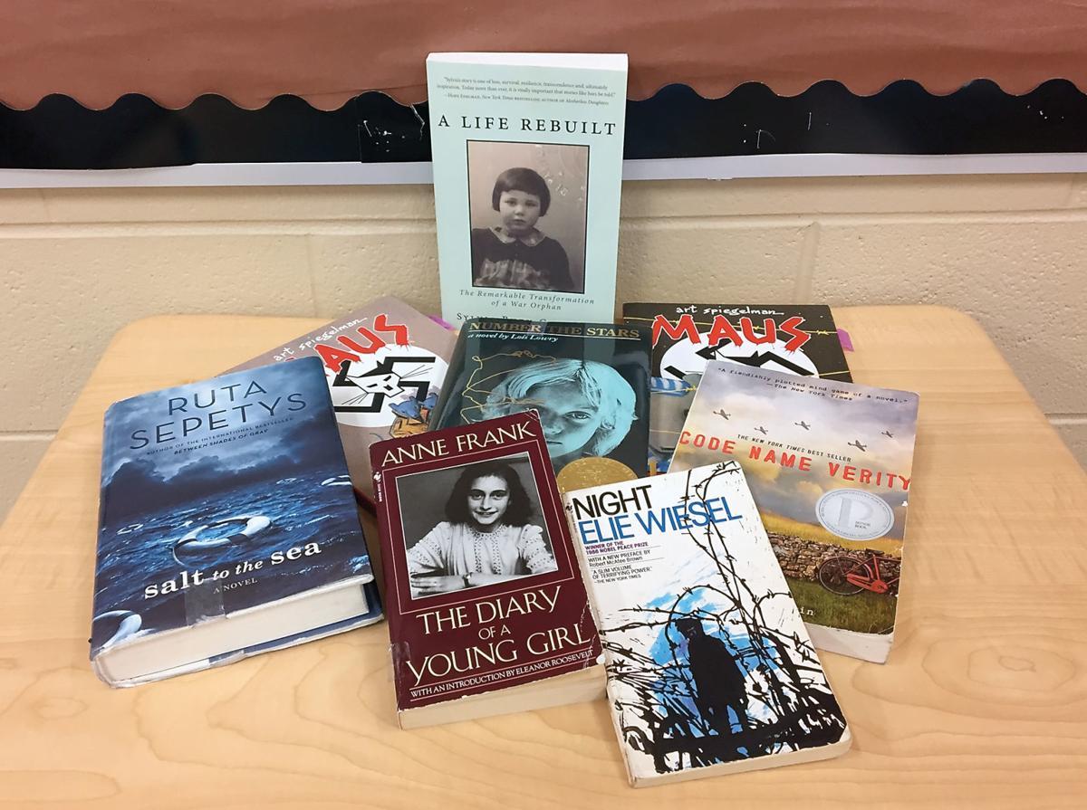 Holocaust themed books