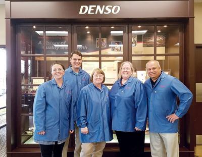 Heritage High School staff visit DENSO for externships