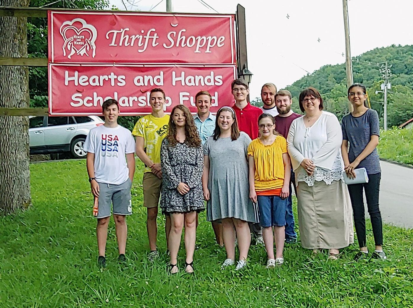 Hearts and Hands scholarship recipients